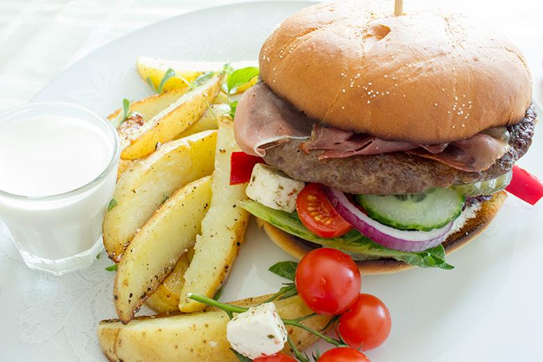 Reinsdyrburger-reinburger
